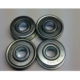 Flanged-Lawnmower-Bearings-Case-C12110-C41167-C42624