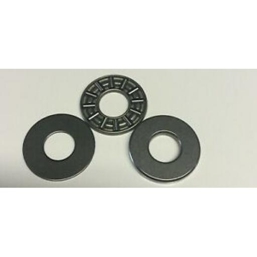 AL-KO Friction Pad Bearing Set AKS1300 Stabiliser - ALKO : 246338 *Generic*